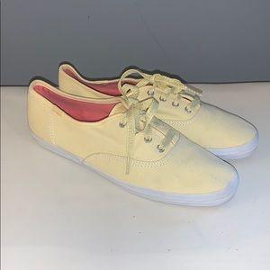 Yellow Keds size 8